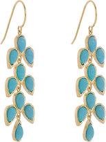 Irene Neuwirth Women's Leaf Drop Earrings