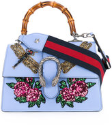 Gucci sequin embroidered Dionysus shoulder bag - women - Bamboo/Leather/PVC - One Size