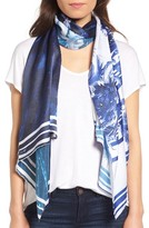 Ted Baker Women's Persian Blue Silk Scarf