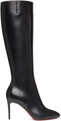 Christian Louboutin Black Eloise Botta 85 Boots