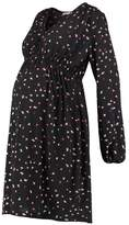 Queen Mum GRAFIC PRINT Dress black