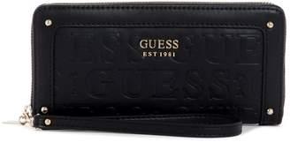 GUESS Lucienne Debossed Wallet