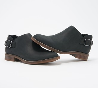 Clarks Collection Leather or Suede Booties - Camzin Pull