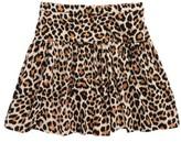 Kate Spade Girl's Leopard Print Skirt