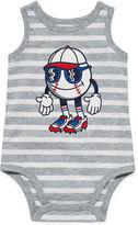 JCPenney Okie Dokie Graphic Bodysuit - Baby Boys newborn-9m