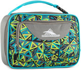 High Sierra Single Compartment Lunch Bag in Electric Geo