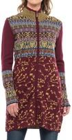 Icelandic Design Milly Long Cardigan Sweater - Wool Blend (For Women)