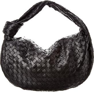Bottega Veneta Jodie Medium Intrecciato Leather Hobo Bag