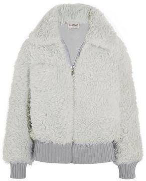 Vika Gazinskaya Teddy coat