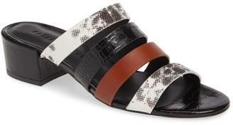 Freda Salvador Irene Leather Low Heel Sandal