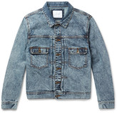 Saturdays NYC Ray Acid-Washed Denim Jacket