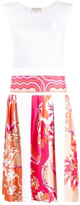 Emilio Pucci Printed Panels Knitted Dress