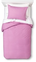 Nobrand No Brand Solid Duvet Set - Purple (Twin)