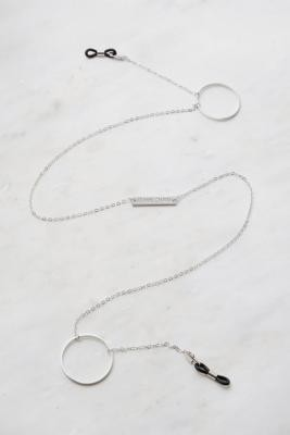 Frame Chain Loop-de-Loop Sunglasses Chain - White ALL at Urban Outfitters