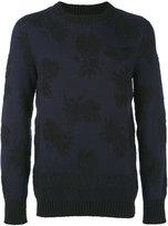 Sacai Pineapple intarsia sweater - men - Cotton - 1