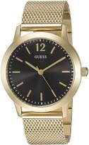 GUESS GUESS? Men's U0921G3 Analog Display Quartz Gold Watch