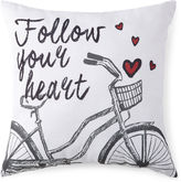 JCP HOME JCPenney HomeTM Follow Your Heart Decorative Pillow