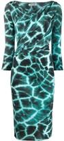 Roberto Cavalli giraffe-print dress