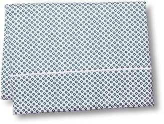 Peacock Alley Emma Flat Sheet - Blue King