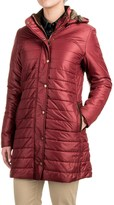 Barbour Rossendale Baffle Quilted Jacket - Insulated, Faux-Fur Trim, Detachable Hood (For Women)