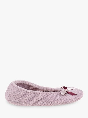 totes Memory Foam Popcorn Ballet Slippers, Pink