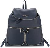 Armani Jeans zip detail backpack