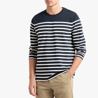 La Redoute Collections Breton Long Sleeved T-Shirt