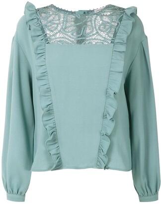 Martha Medeiros Renascenca long sleeved blouse