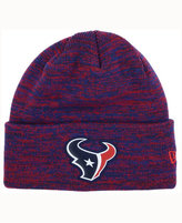 New Era Houston Texans Beveled Team Knit Hat