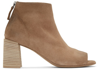 Marsèll Tan Suede Stuzzico Sandal Boots