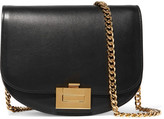Victoria Beckham Leather Shoulder Bag - Black