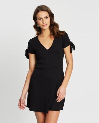 Cotton On Sadie Fit & Flare Short Sleeve Mini Dress