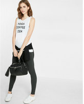 Express one eleven yoga coffee zen graphic tank