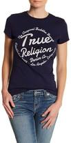 True Religion Rays Crystal Logo Burnout Tee