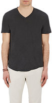 James Perse Men's Jersey V-Neck T-Shirt-BLACK