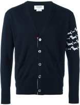 Thom Browne intarsia dog cardigan
