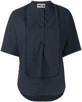 Hache layered blouse - women - Cotton - 38