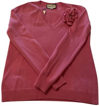 Gucci Pink Cashmere Knitwear for Women