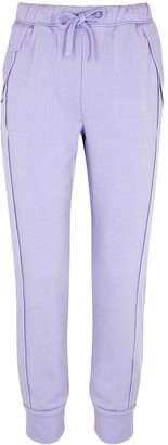FREE PEOPLE MOVEMENT Work It Out lilac cotton-blend sweatpants