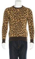 Saint Laurent Babycat Mohair Sweatshirt
