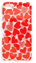 Kate Spade Scattered Hearts Iphone 7 Case - Red