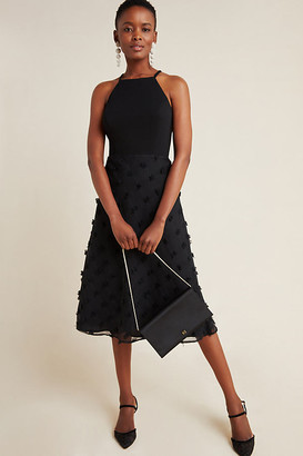 Sunday In Brooklyn Sydney Textured Midi Dress By in Black Size XS