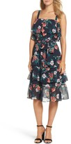 Eliza J Women's Floral Ruffle Dress
