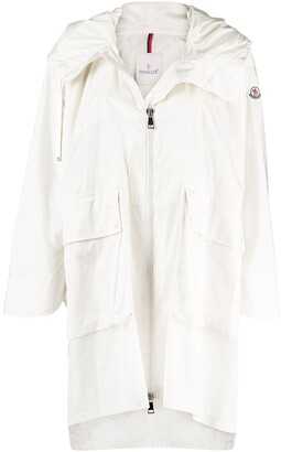 Moncler High-Low Rain Coat