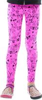 LittleMissMatched Gem Pink Paris Leggings