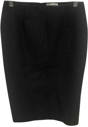 Nina Ricci Black Wool Skirt for Women