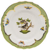 Herend Rothschild Bird Borders Green Bread & Butter Plate 1