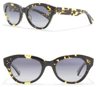 Salt Bobbi Polarized 53mm Cat Eye Sunglasses