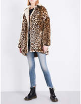 R 13 Ladies Leopard Classic Coat