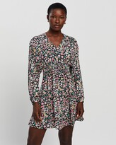 Thumbnail for your product : Only Women's Multi Long Sleeve Dresses - Tamara LS Printed Dress - Size L at The Iconic